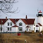 Eastern Point Lighthouse by Monica M. Scanlan
