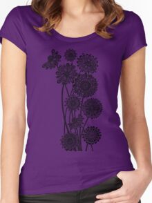 Gerber Daisies  Women's Fitted Scoop T-Shirt