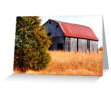 ~Arkansas Barn~ Greeting Card