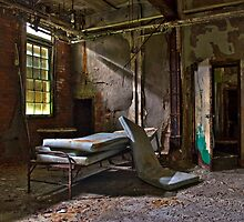 Old Hospital Bed by DariaGrippo