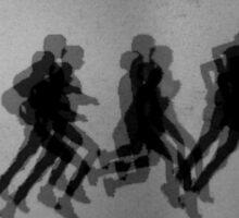 The Runners Sticker