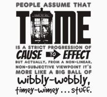 Wibbly-Wobbly Timey-Wimey...Stuff. by wessaandjessa