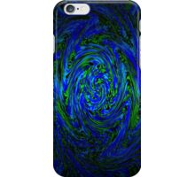 Blue & Green Swirl iPhone Case/Skin