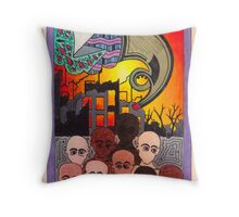 Judgement Throw Pillow