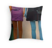 Colour Contrast Throw Pillow