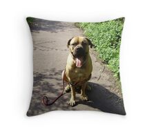 Obedience Throw Pillow