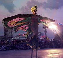 Lady Butterfly by schizomania