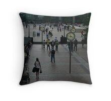 Time II - Canary Wharf, London, England Throw Pillow