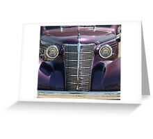 Chrome Dome Color Greeting Card