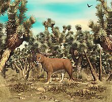 Joshua Tree Cougar by Walter Colvin