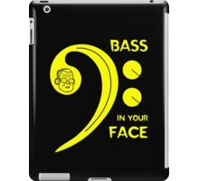 Bass in Your Face iPad Case/Skin