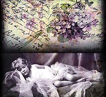 Vintage Collage 20 by Angelina Cornidez