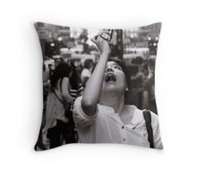 Tourist Throw Pillow