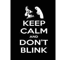 Keep Calm And Don't Blink - Tshirts & Hoodies Photographic Print