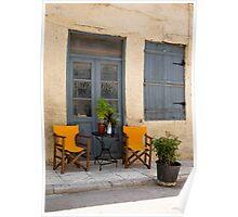 Cozy Windows and Door Poster