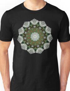 Hemlock / Queen Anne's Lace Mandala Unisex T-Shirt