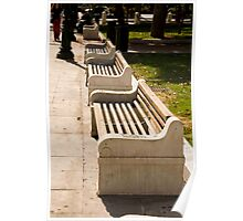 Bench Upon Benches Poster