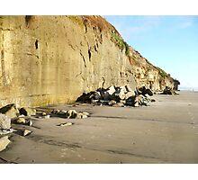 """""""Cliffs At Encinitas Beach"""" Photographic Print"""
