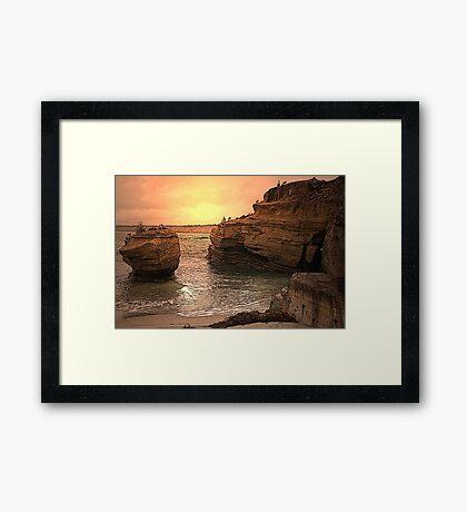 The Rock Framed Print