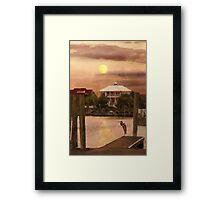 Evening Glow / South Carolina  / Framed Print