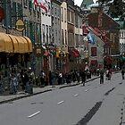 rue Ste Anne by Brenda Dow