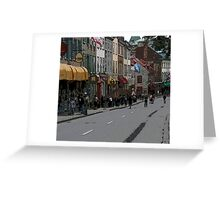 rue Ste Anne Greeting Card