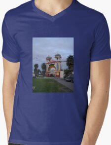 Just for fun Luna Park entrance Mens V-Neck T-Shirt