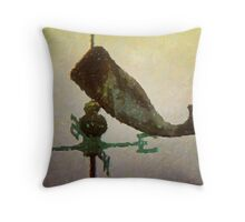 Weathervane II  /  Whale  /  South Carolina Throw Pillow