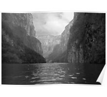 Sumidero canyon in Mexico Poster