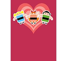 Droidarmy: The Powerpuff Droids Photographic Print
