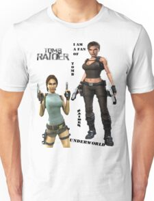 I am a fan of tomb raider Unisex T-Shirt