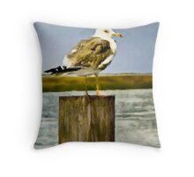 Seagull II  /  South Carolina Throw Pillow