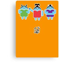 Droidarmy: Fruity Oaty Droids Canvas Print