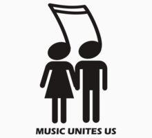 MUSIC UNITES US One Piece - Short Sleeve
