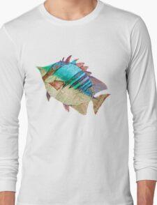 A Rainbow Fish Long Sleeve T-Shirt