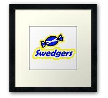 SWEDGERS Framed Print