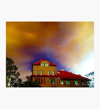 Bushfire Cloud - Sydney - October 2013 Photographic Print