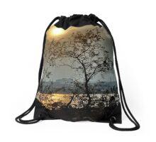 Summer Evening Drawstring Bag