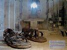Giant feet needed by Ian Ker