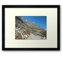 escape to the nature Framed Print