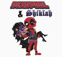 Deadpool and Shiklah by Gento