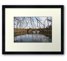 Campbelltown Bridge Tasmania Framed Print