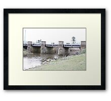 Blackman River Bridge - Tasmania Framed Print