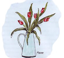 Wild Tulips by Maree  Clarkson