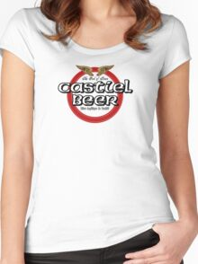 Brewhouse: Castiel Beer Women's Fitted Scoop T-Shirt