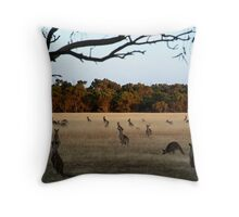 Feeding Time,Lara Throw Pillow