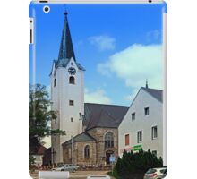 The village church of Oberneukirchen I | architectural photography iPad Case/Skin