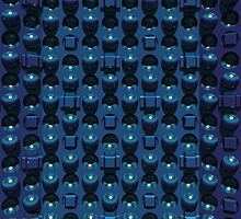 The blue wall by Chris Bigelow