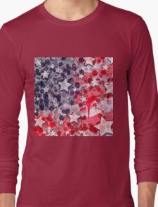 United States Blues Long Sleeve T-Shirt