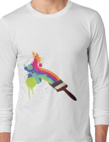 paint a rainbow Long Sleeve T-Shirt